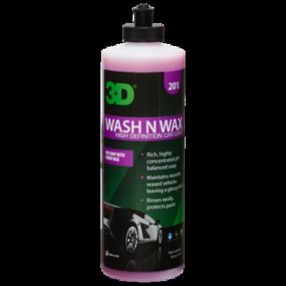 3D Car Care 3D Car Care - Wash N Wax 16 oz.