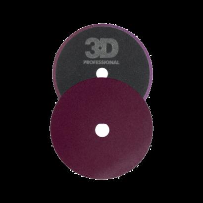 3D Car Care 3D Car Care - High Definition Dark Purple Foam Cutting Pad 5,5 inch