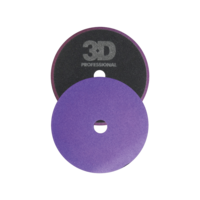 "3D Car Care Light Purple 5,5"" Foam Cutting/Polishing Pad"