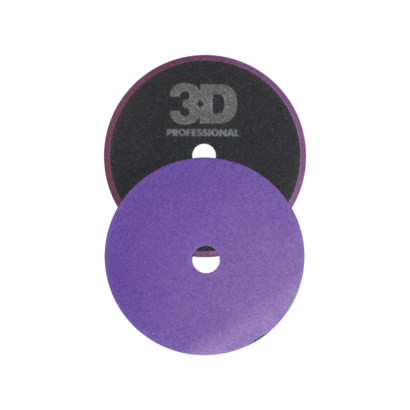 3D Car Care 3D Car Care - HD Light Purple Foam Cutting/Polishing Pad 5,5 inch