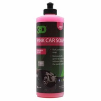 3D Car Care Pink Car Soap 16 oz.