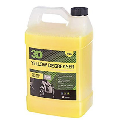 3D Car Care 3D Car Care - Yellow Degreaser 1 Gallon