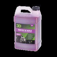 3D Car Care 3D Wash N Wax 1 Gallon