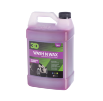 3D Car Care 3D Wash N Wax 1 Gallon