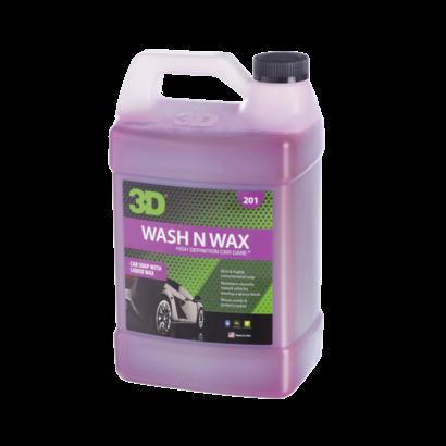 3D Car Care 3D Car Care - Wash N Wax 1 Gallon
