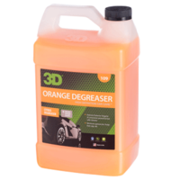 3D Car Care Orange Degreaser 1 Gallon