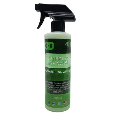 3D Car Care 3D Car Care - Waterless Carwash 16 oz.
