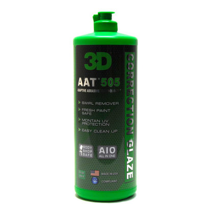 3D Car Care 3D Car Care - AAT 505 Correction Glaze 8 oz.