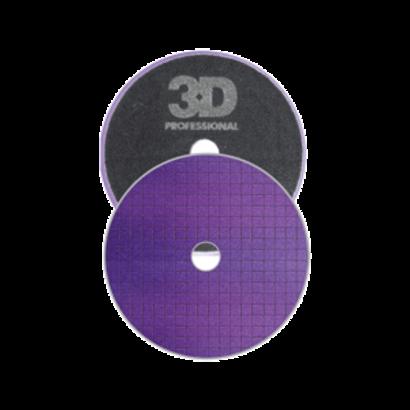 "3D Car Care 3D Car Care - Spider-Cut Light Purple Polishing Pad 6,5"""
