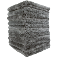 Mike O'Fiber Plush Microfiber Towel Grey 10x