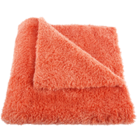 Mike O'Fiber Plush Microfiber Towel Orange