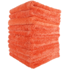 Mike O'Fiber Plush Microfiber Towel Orange 10x