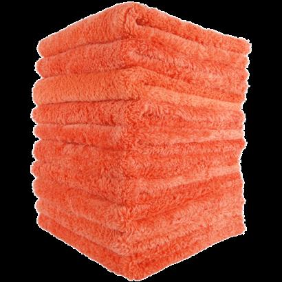 Mike O'Fiber Mike O'Fiber - Royal Plush Microfiber Towel Orange 10 Pack