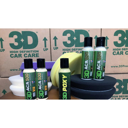 3D Car Care 3D Car Care - Pro Starters Pack