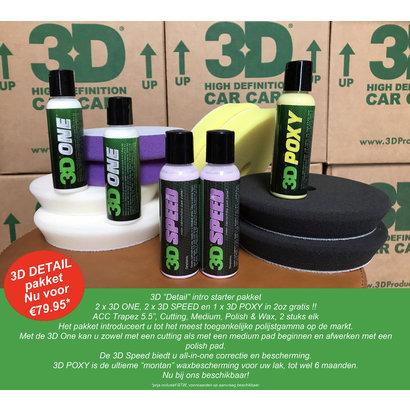 3D Car Care 3D Car Care - Detail Starters Pack