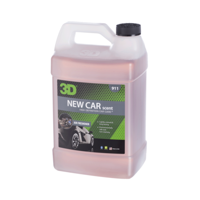 3D Car Care 3D Car Care - New Car Scent Air Freshener 1 Gallon