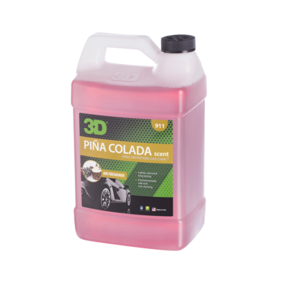 3D Car Care 3D Car Care - Piña Colada Scent Air Freshener 1 Gallon