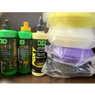 3D Car Care 3D Pro Starters 8 oz. Pack