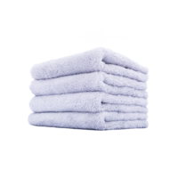 3D Car Care Towel White