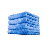 3D Car Care Towel Blue