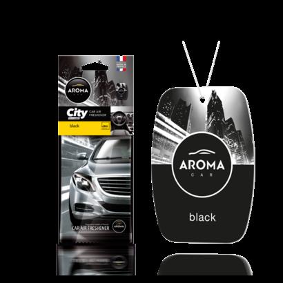 Aroma Geurhangers Aroma - City Black