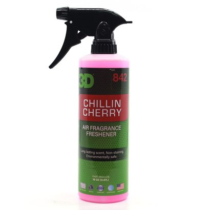3D Car Care 3D Car Care - Cherry Scent Air Freshener 16 oz.