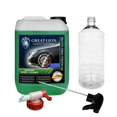 Great-Lion Great Lion - Bleeding Wheel Cleaner 5L Set