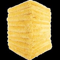 Mike O'Fiber Plush Microfiber Towel Yellow 10x