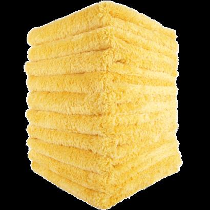 Mike O'Fiber Mike O'Fiber - Royal Plush Microfiber Towel Yellow 10 Pack
