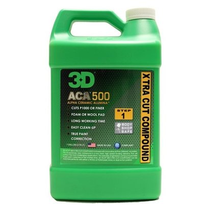 3D Car Care 3D Car Care - ACA X-TRA CUT 500 1 Gallon