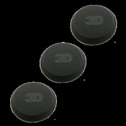 3D Car Care 3D Car Care - 3 Pack Soft Black Applicators