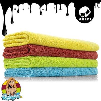 Nuke Guys Nuke Guys - Rainglow Premium Microfiber Towel 4 Pack