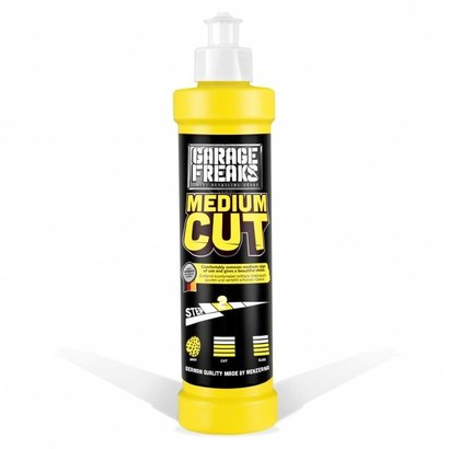 Garage Freaks Garage Freaks - Yellow Medium Cut 250ml