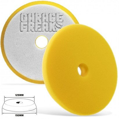 Garage Freaks Garage Freaks - Yellow Medium Cut 150mm