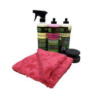 3D Car Care Wash & Wax Set