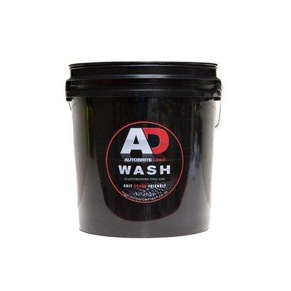 AutoBrite Direct AutoBrite - Heavy Duty Wash Detailing Black Pro Bucket