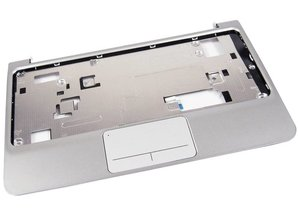 Hewlett Packard HP Mini 210 Silver Palmrest w Touchpad Assy 635012-001