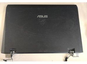 Asus Asus G73J Scherm, Digitizer, Back Cover + Beeldbekabeling - Gebruikt, maar in goede staat.