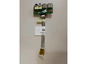 Asus Asus USB Audio Board - 0-n1qio1000-c01 ASUS N53sv Rev 2.1 PC IO