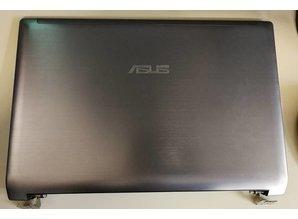 Asus Asus - Back Cover + Wifi Antennes + Scharnieren aan beide kanten - 13GNZT1AM010-1 Asus N53SV LCD