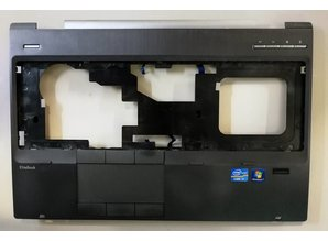 Hewlett Packard HP EliteBook 8560w toetsenbord bovenkant met Touchpad & Finger Scanner - Typenummer: 652652-001