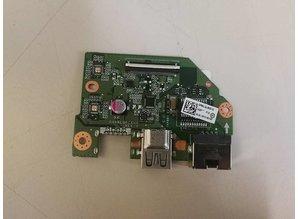 Toshiba Toshiba Satellite C55 C55t-c Ethernet Port Board USB W Cable DA0BLQPC6H0 Tested