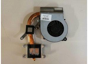 Hewlett Packard HP laptop koeler + heatsink 595833-001