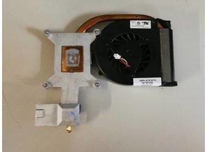 Hewlett Packard HP Laptop koeler + heatsink 489126-001