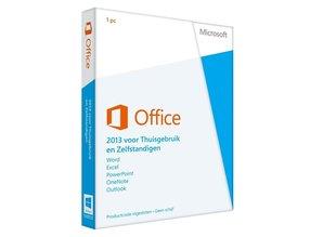 Microsoft Office voor Thuisgebruik en Zelfstandigen 2013