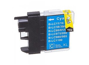 Brother Brother LC-985C XL Cyaan Inkt Cartridge