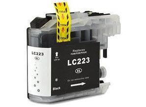 Brother Brother LC-223BK Zwart Inkt Cartridge