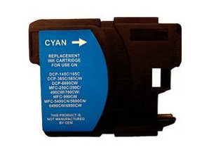 Brother Brother LC-1100C Cyaan Inkt Cartridge