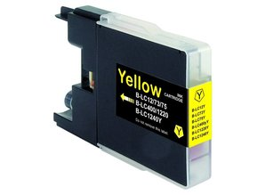 Brother Brother LC-1240Y Gele Inkt Cartridge