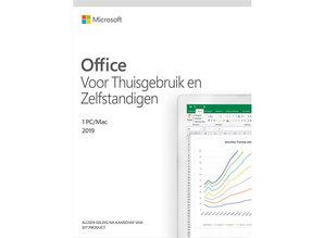 Microsoft Office voor Thuisgebruik en Zelfstandigen 2019